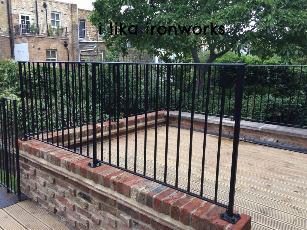 Roof Terrace Railings London
